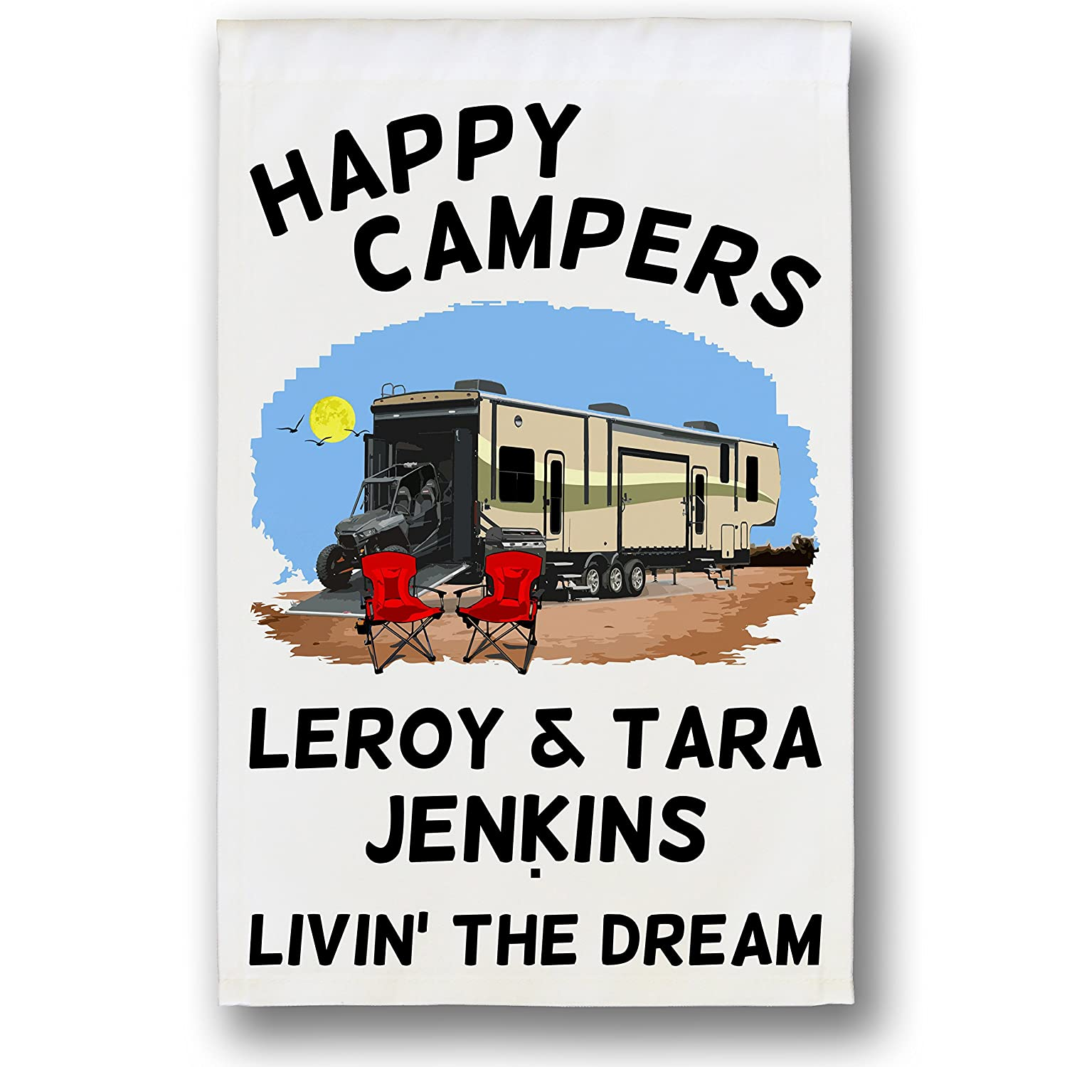Amazon.com: Happy Campers personalizado juguete Hauler ...