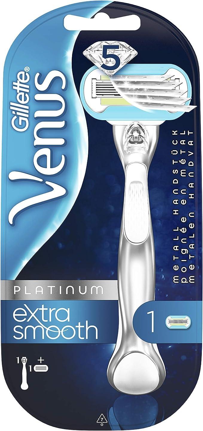 Gillette Venus Platinum Extra Smooth - Afeitadora para mujer ...