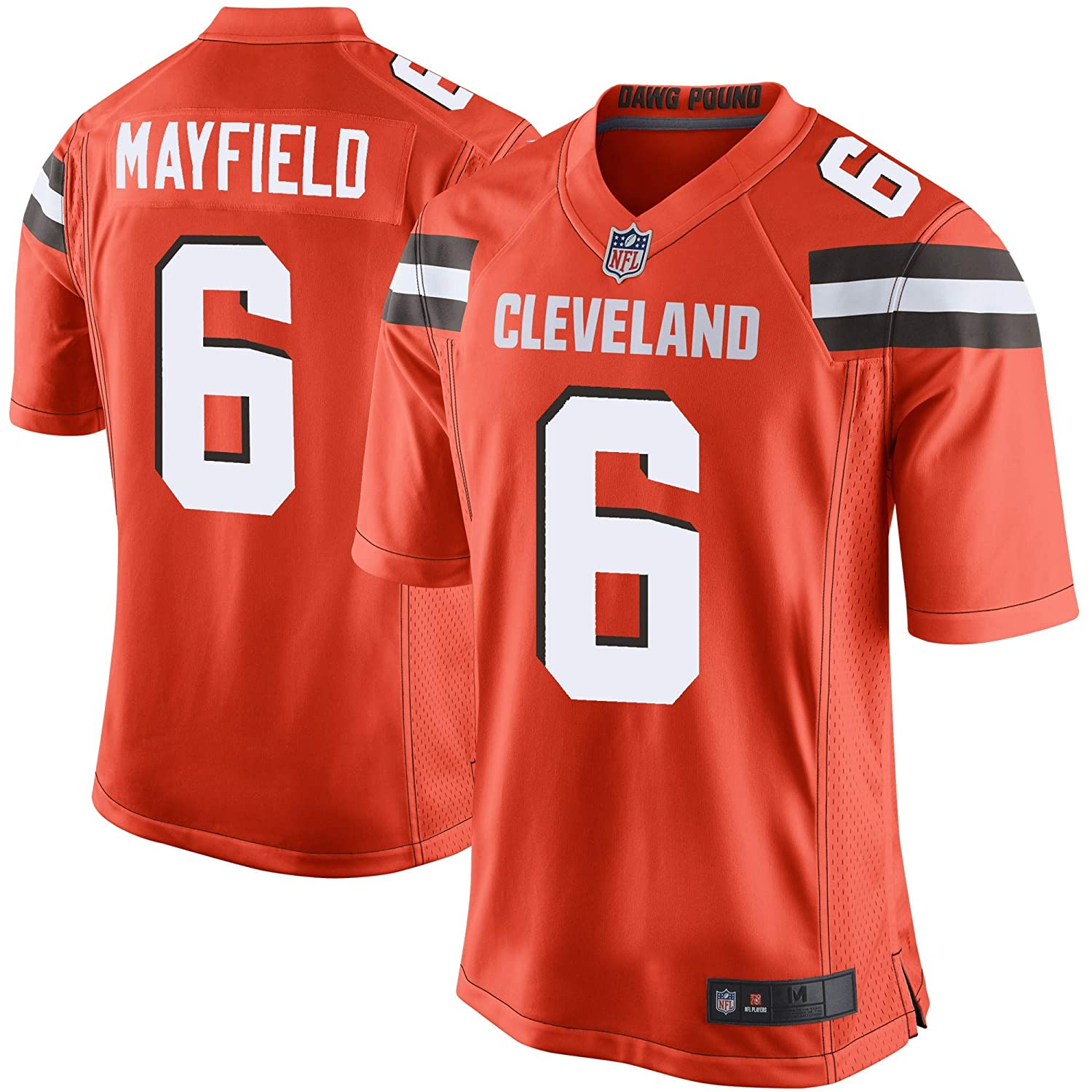 brand new 7c7fe fb04a Outerstuff Youth Kids 6 Baker Mayfield Cleveland Browns Jersey
