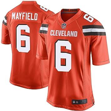 brand new 85d92 17b9e Outerstuff Youth Kids 6 Baker Mayfield Cleveland Browns Jersey