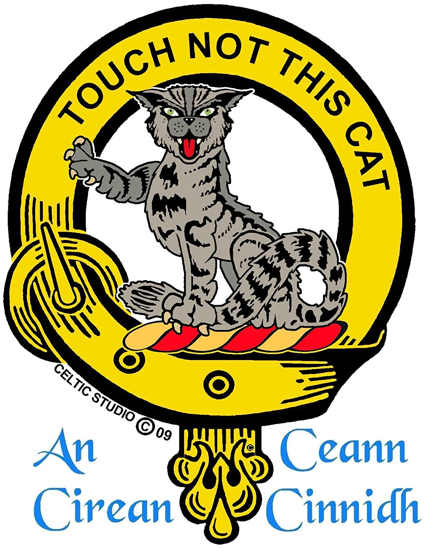MacGillivray Scottish Clan Crest Badge