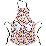 Disney Mickey Mouse Apron and Oven Mitt Set for Adults465017142103