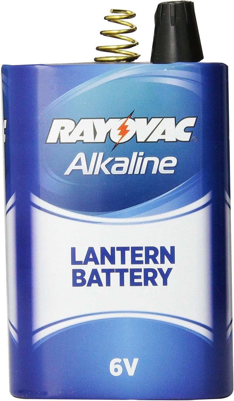 Rayovac Alkaline Lantern Batteries 6V Spring Terminal 30 Pack