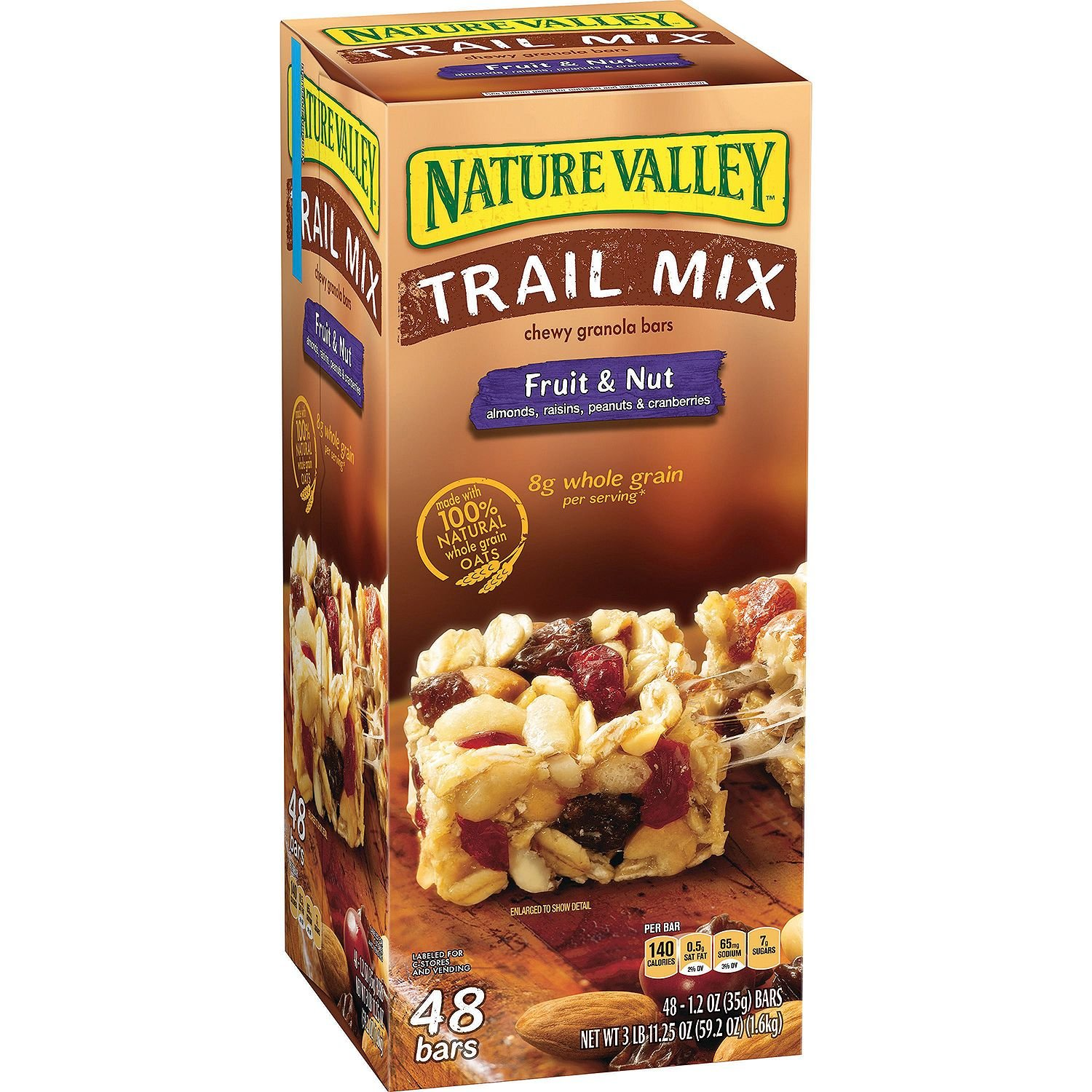 Nature Valley Fruit & Nut Chewy Trail Mix Granola Bars, 3 Pound