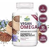 Simply Nutra Vegan Omega 3-6-9 Dha 500Mg - 90 Capsules (Pack Of 1)