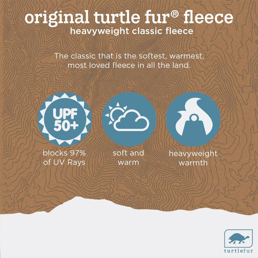 Turtle Fur Heavyweight Fleece Neck Warmer - Black by Turtle Fur (Image #6)
