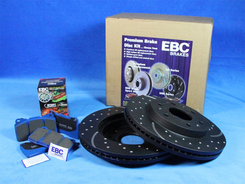 EBC S6KF1041 Stage-6 Trackday Brake Kit
