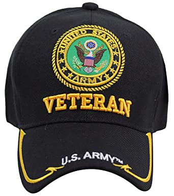 6166eda68ab Amazon.com  U.S. Military Cap Hat Vietnam Veteran Army Marine Navy ...