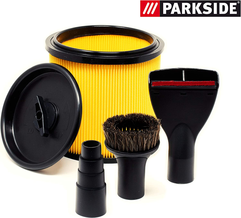 Parkside pnts 1500 A1 B2 B3 C4 – Filtro plegado Tapa Reductor ...
