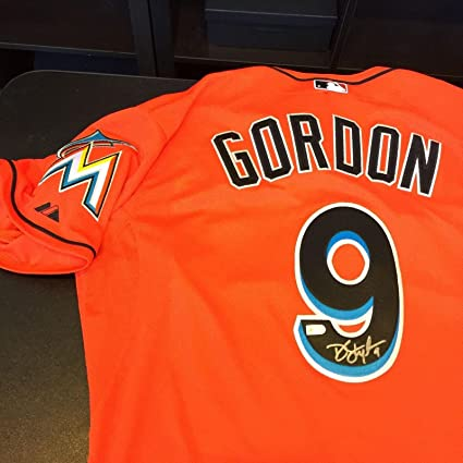 online store 01499 e312f Dee Gordon Signed Jersey - Game Model Hologram - Autographed ...