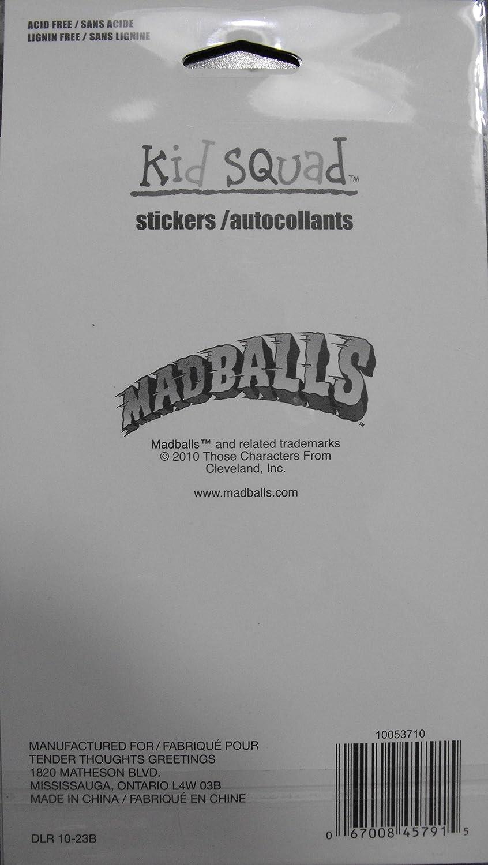 Amazon madballs 45 stickers 3 sheets 15 per sheet toys games kristyandbryce Choice Image