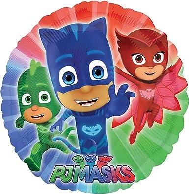 Anagram - Globo redondo personajes Disney PJ Masks : Amazon ...