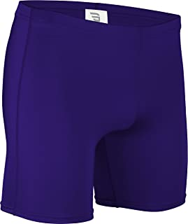 product image for NL-111-CB Men's and Women's Tight Fit, Dry Fitness Compression Short-Basketball, Aerobics, Football-Made with Moisture Wicking Odor Protection Fabric (XXX-Large, Purple)