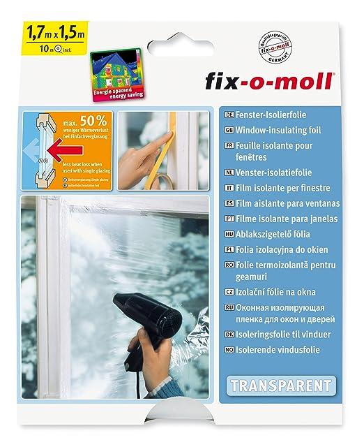 suki Kunststoff Fenster Isolierfolie 170 x 150 cm
