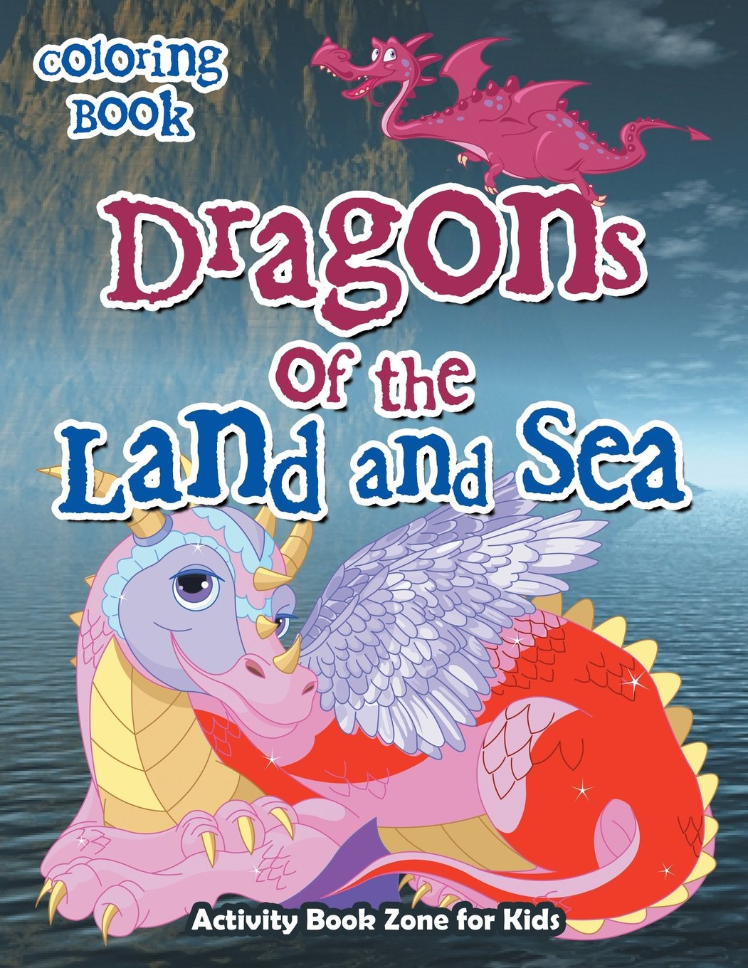 Download Dragons of the Land and Sea Coloring Book PDF