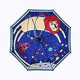 【メーカー直営】日傘 uvカット100 遮光, redmini レディース 折りたたみ傘 晴雨兼用 軽量 高密度NC布 耐風撥水 オリジナルデザイン賞2年保証 (ライオン)