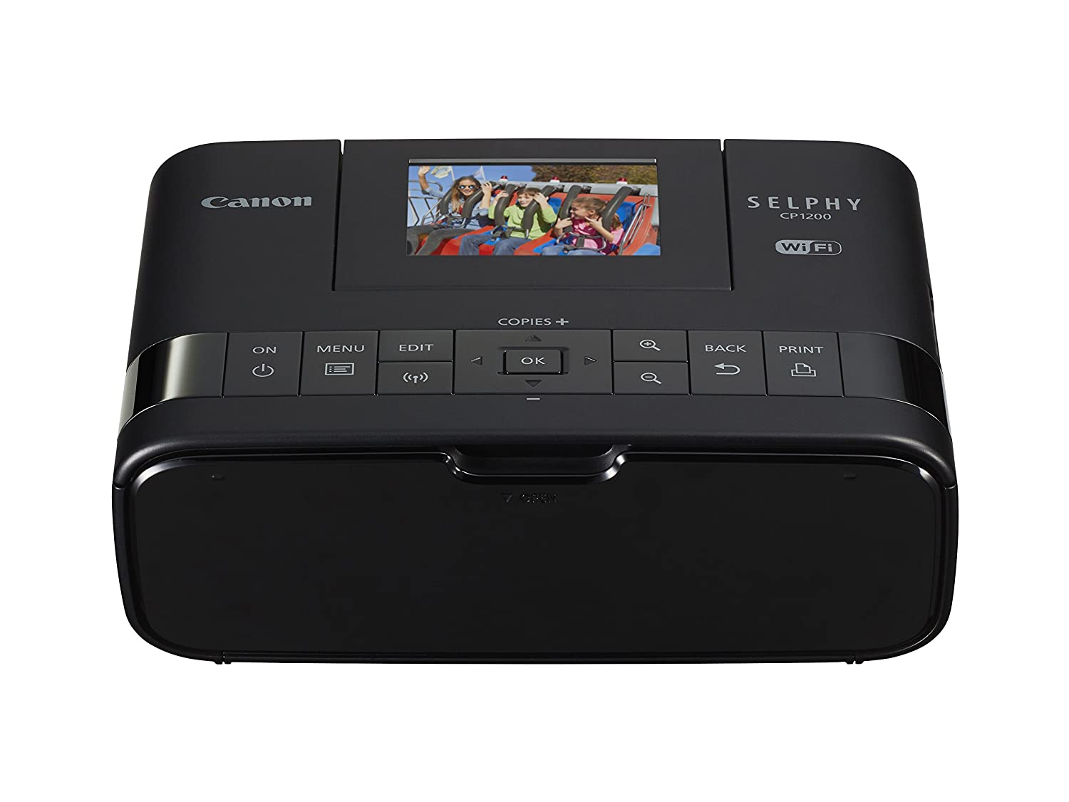 Amazoncom Canon Selphy Cp1200 Black Wireless Color Photo Printer