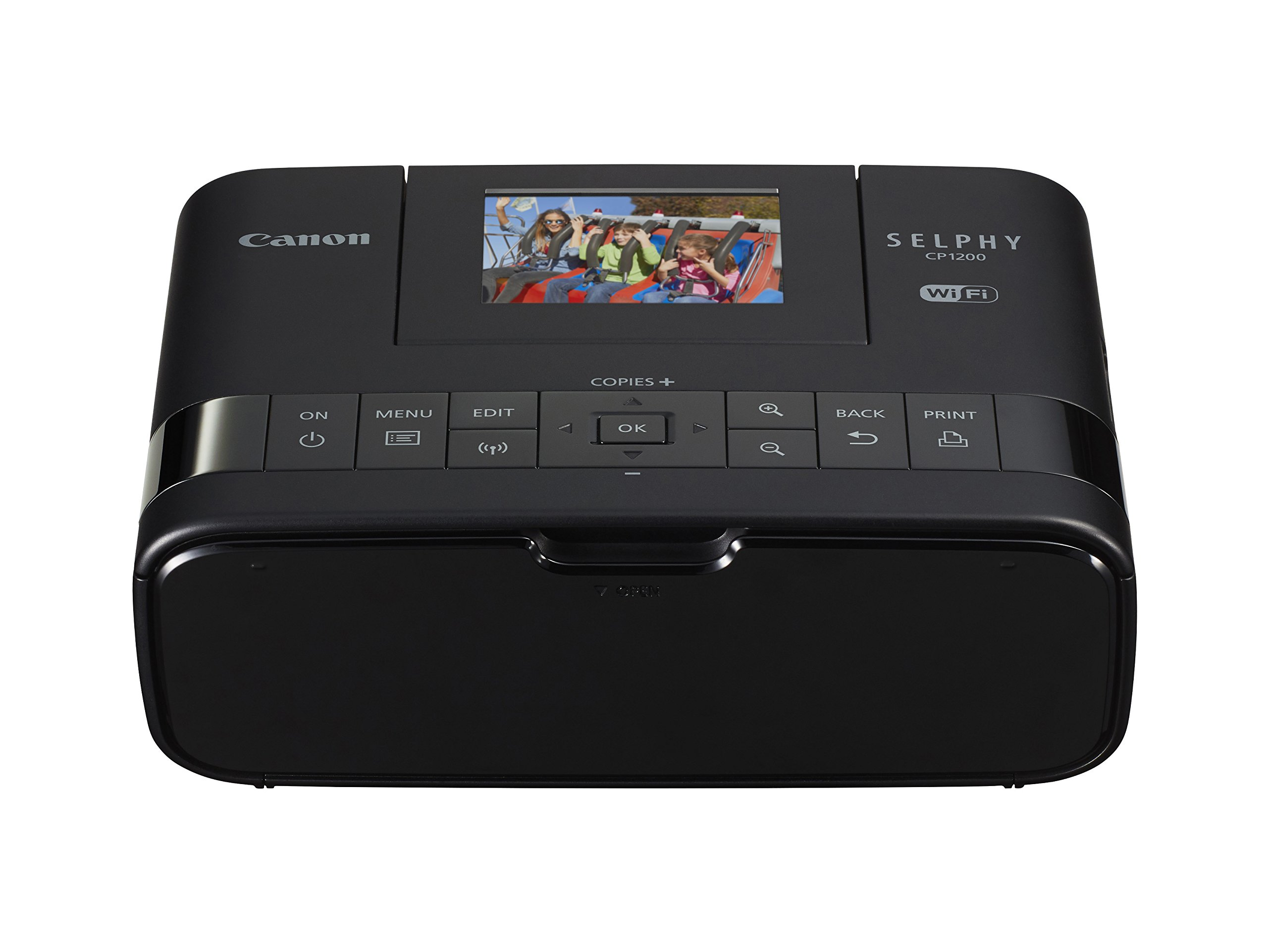 Canon Selphy CP1200 Black Wireless Color Photo Printer