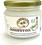 Coconutty Raw Extra Virgin Coconut Oil, 300ml - Cold Pressed, Unrefined, Ethically Sourced, Vegan and 100% Natural (300ml)