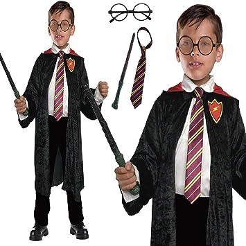 Zauberer Umhang Harry Potter Inspiriert 4 Stuck Set School Boy