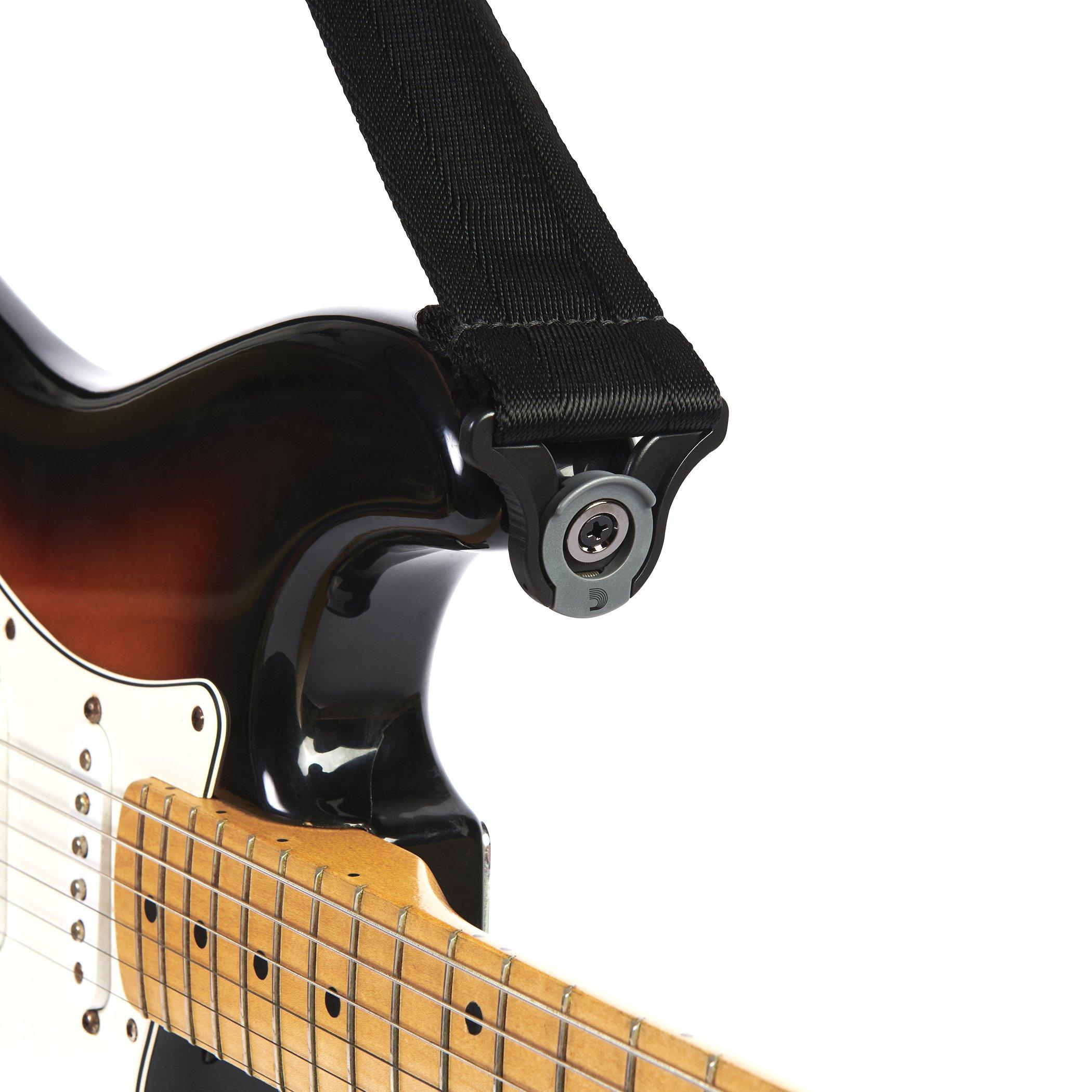 D'Addario Accessories Auto Lock Guitar Strap (50BAL00) by D'Addario Accessories (Image #4)