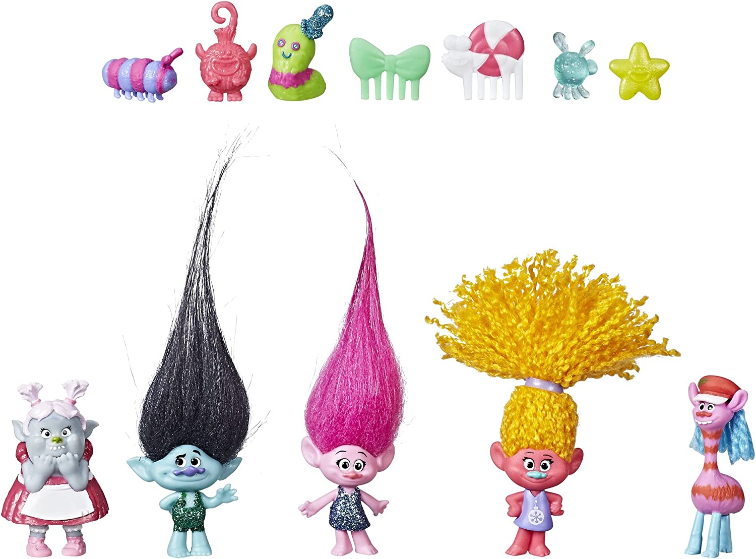 Trolls Series 6 Blind Bag Holiday Lote De 6