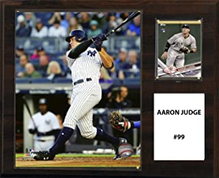 product image for C&I Collectables MLB New York Yankees Men's Aaron Judge Player Plaque, Brown