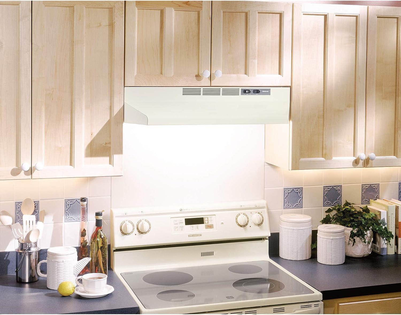 Broan 404201 ADA Capable Under-Cabinet Range Hood 42-Inch White