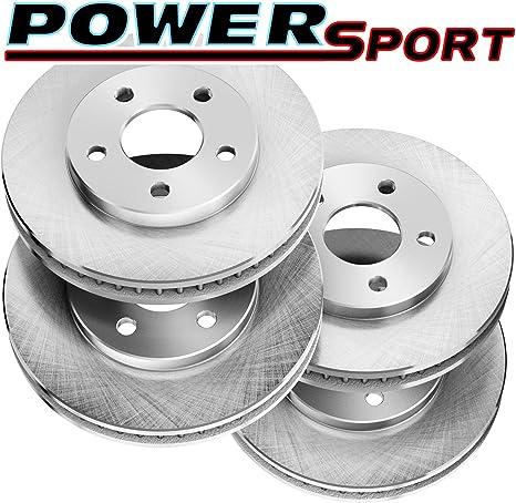 Front Disc Rotors /& Ceramic Brake Pads For Scion Subaru