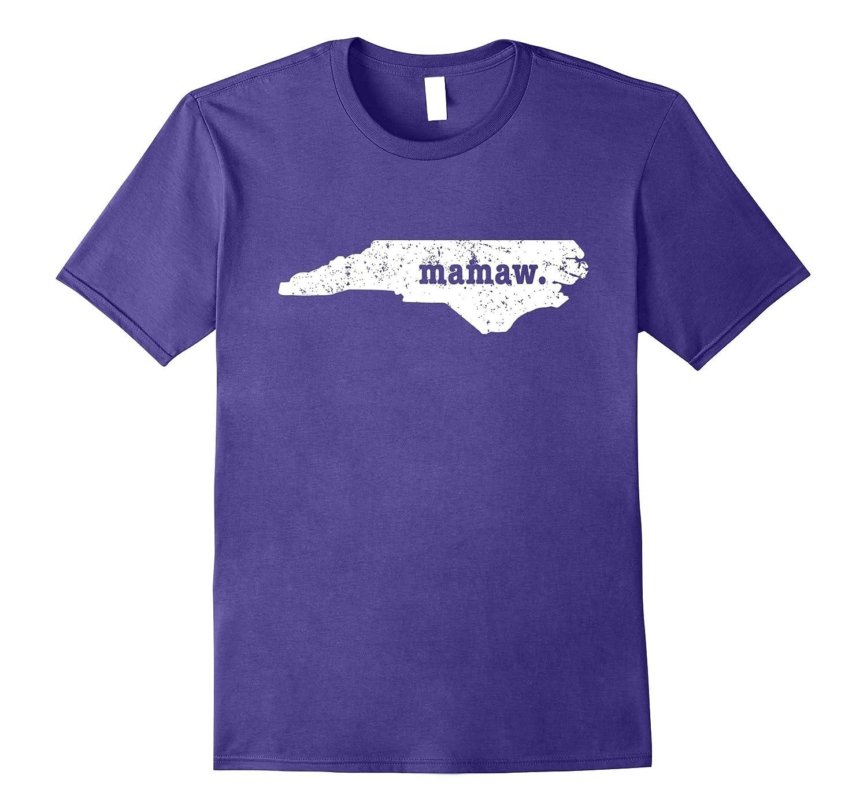 Best Mamaw Shirt North Carolina Personalized Grandmother Shi-TH