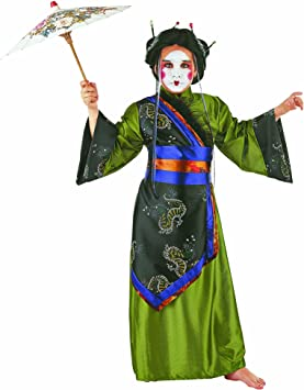 Limit Sport MI232 Gr. 3 - Disfraz de geisha mono para niña (talla ...