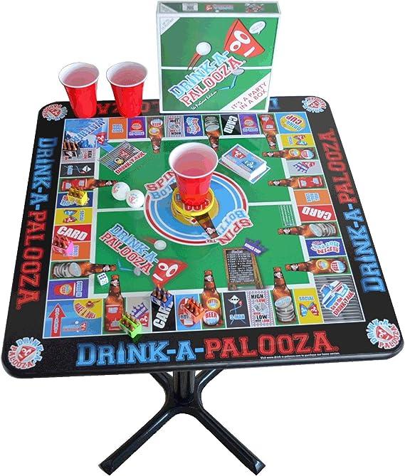 DRINK-A-PALOOZA mesa Party Bar juego: combina