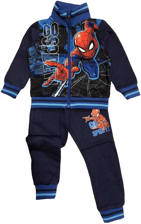 Chándal Spiderman 3 4 5 6 7 8 años Invierno 2020 Turquesa 3 años ...