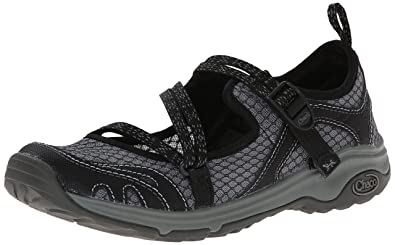 Chaco Women's Outcross Evo Hiking Shoe, Black, ...