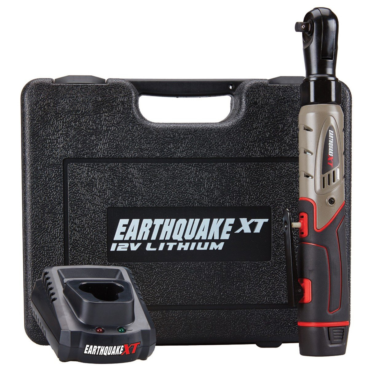 Earthquake 12V Max Lithium 3 8 Cordless Xtreme Torque Ratchet Wrench Kit