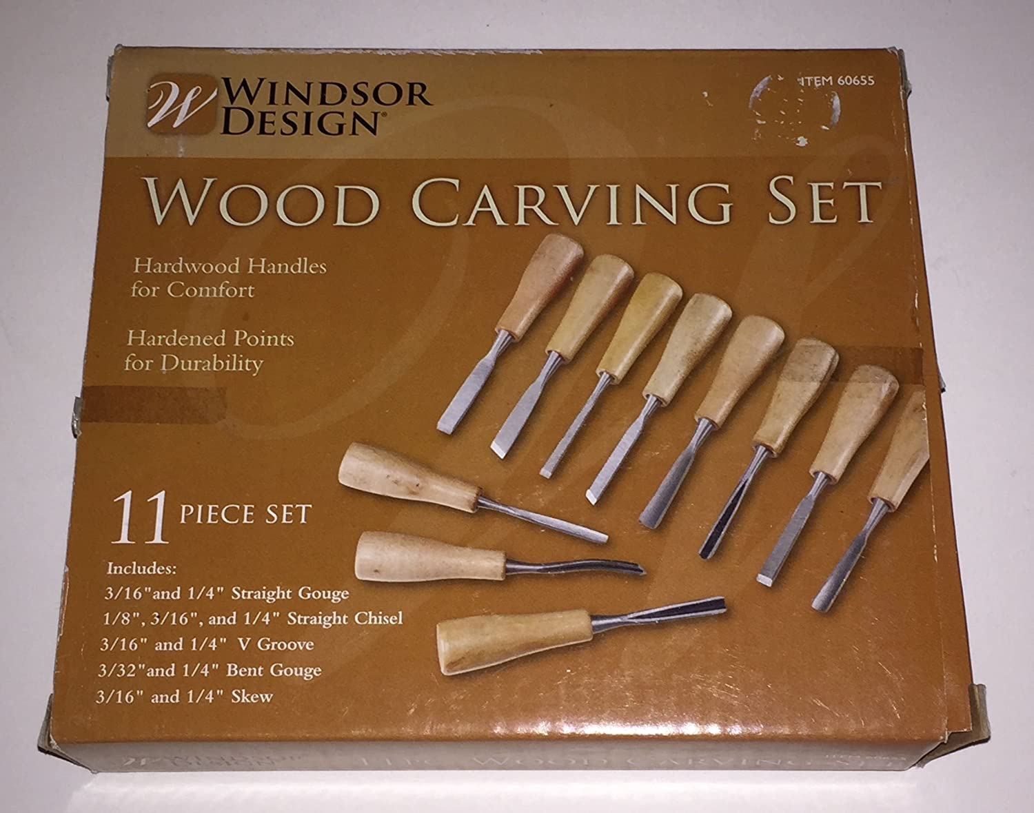 Amazoncom 11 Piece Wood Carving Set Hfj14 Home Improvement