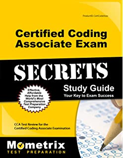 Certified coding associate exam secrets study guide: cca test.