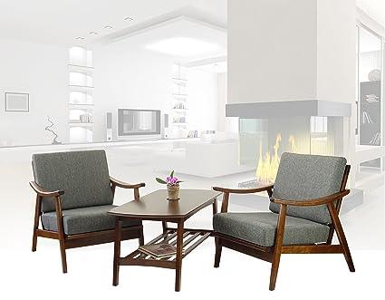 Aluwood modern design lounge set u outdoor lifestyle products