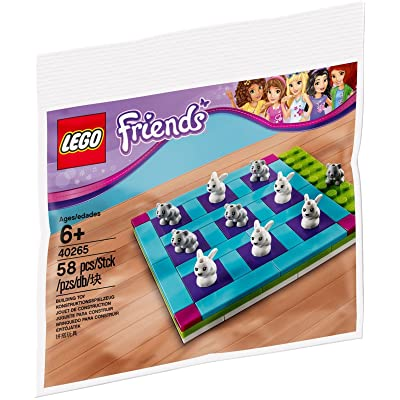 LEGO FRIENDS Bunny and Kitty Tic-Tac-Toe 40265: Toys & Games
