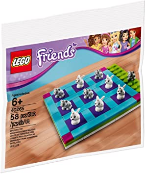 Lego Friends 6177632 Bunnies And Kittens Tic Tac Toe Buildable Game