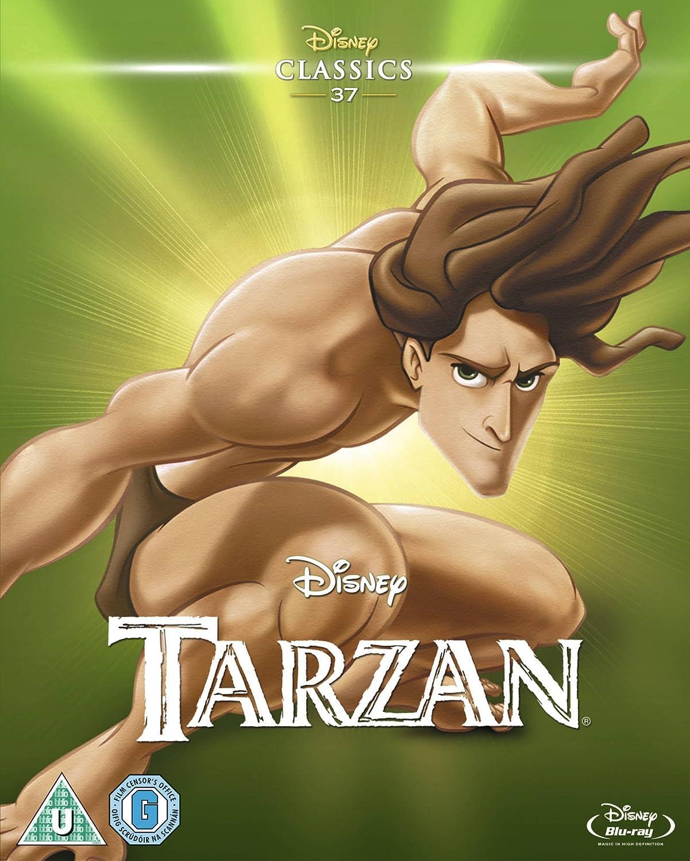 Tarzan 1999 Limited Edition Artwork Sleeve Blu Ray Amazon Co Uk Dvd Blu Ray