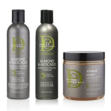Amazoncom Design Essentials Hair Care Bundle With Almond