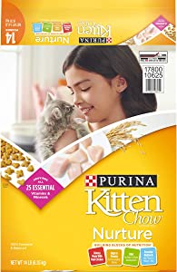 Purina Kitten Chow Nurturing Formula Dry Cat Food 14lb