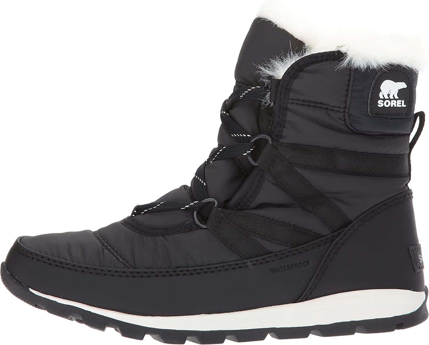 SOREL Womens Whitney Short Lace Waterproof Insulated Winter Boot