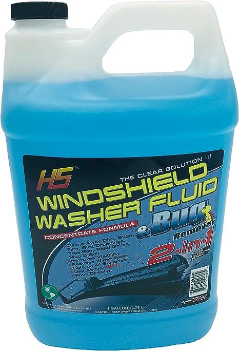 HS Bug Wash Windshield Washer Fluid