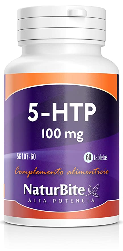 NaturBite 5-HTP, 100 mg - 60 Cápsulas
