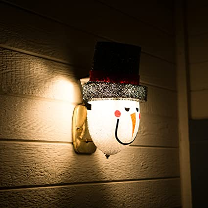 Amazon snowman porch light cover light up your night with a snowman porch light cover light up your night with a glowing welcome from this frosty workwithnaturefo