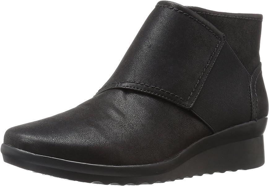 0351724b127 CLARKS Women s Caddell Rush Boot Black 5 ...
