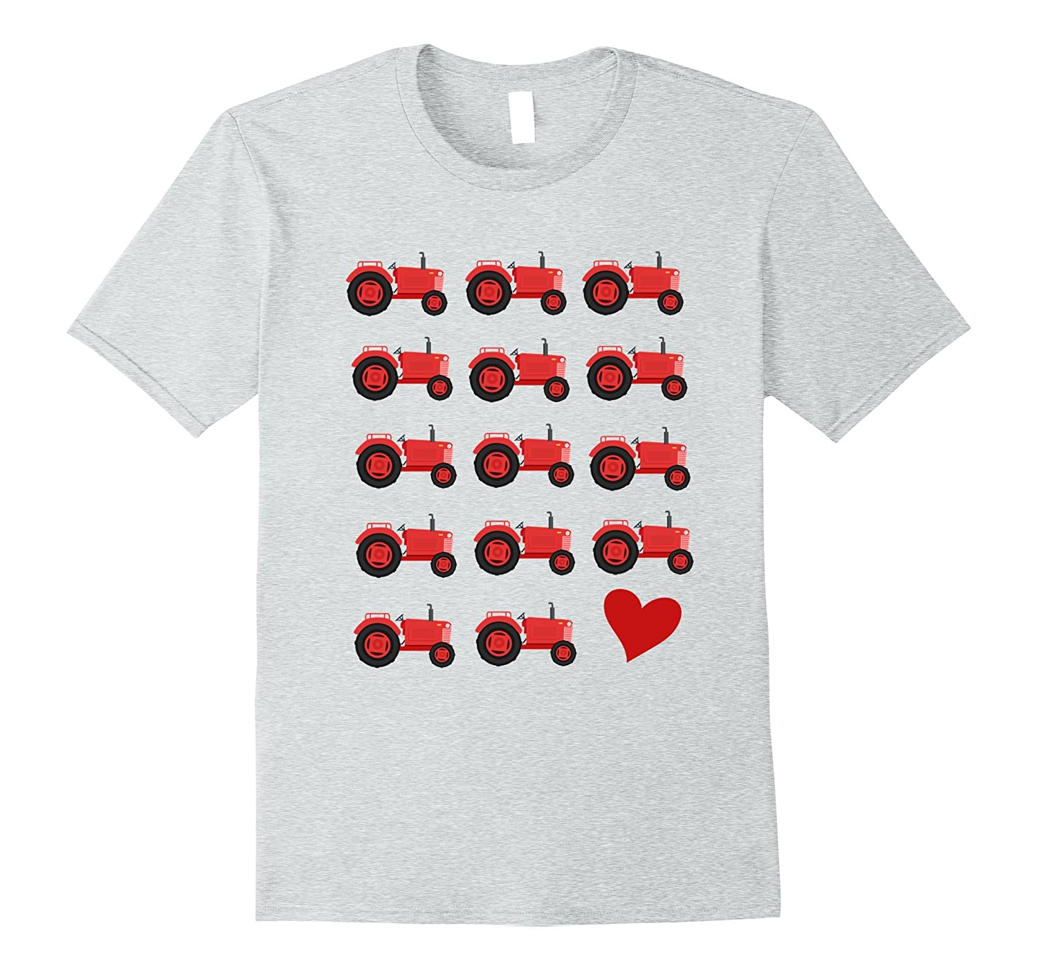 99917f9fc ... Boys' I Love Red Tractors T-Shirt For Toddlers Kids Farmers-gm ...