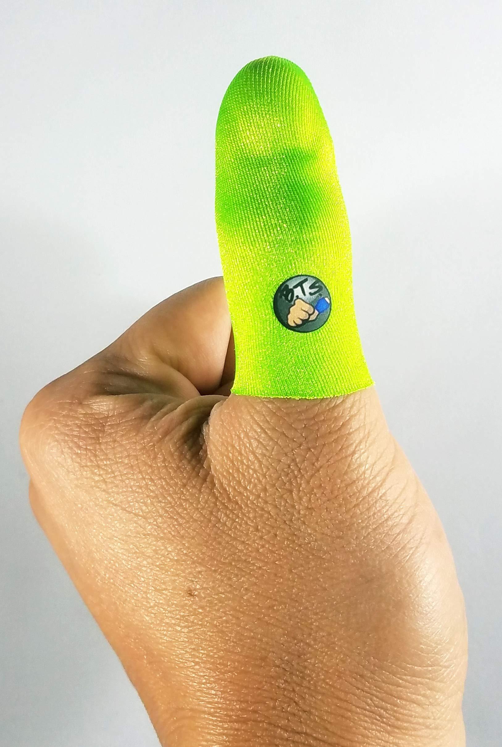 Bowling Thumb Sock BTS (Lime)